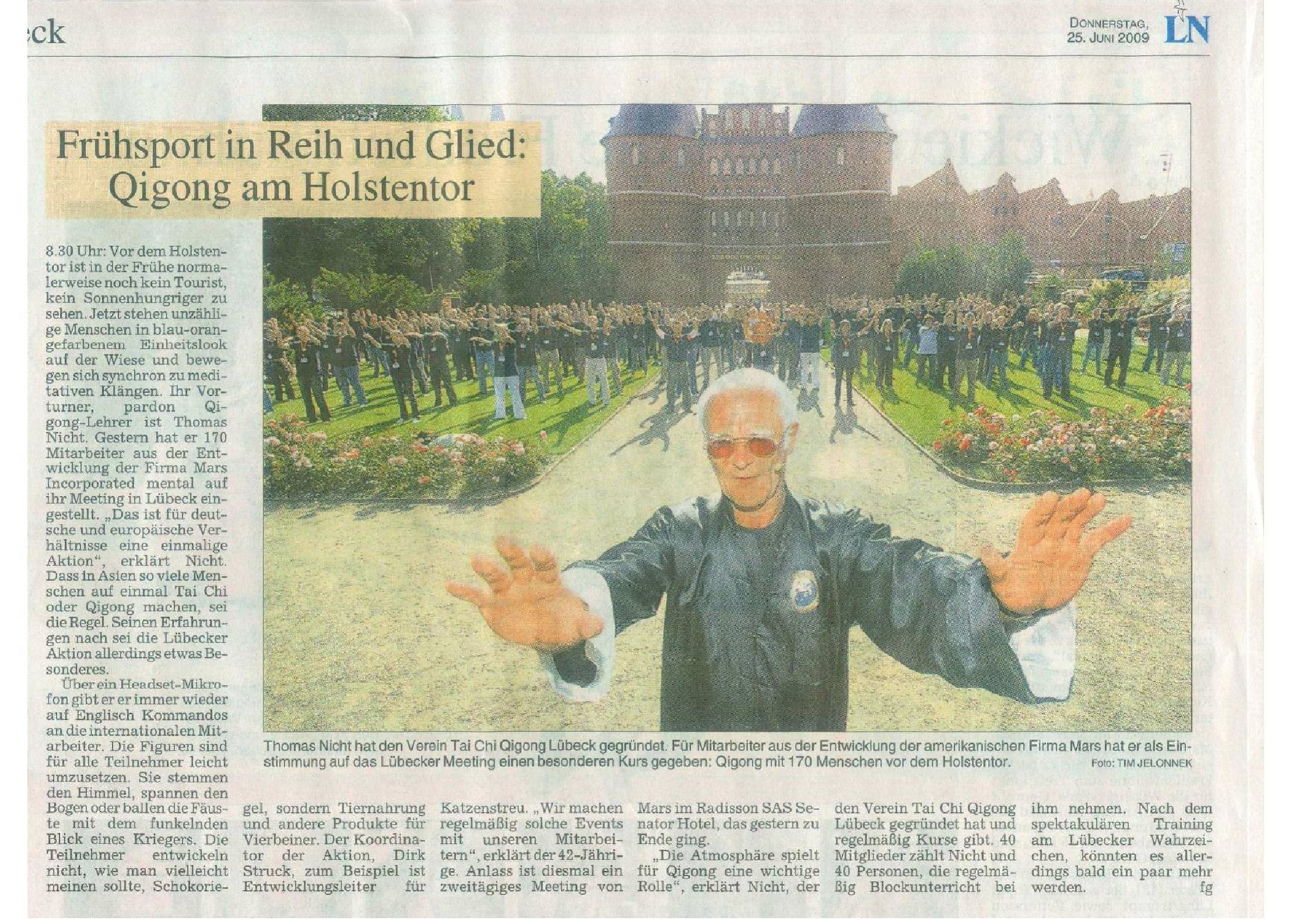 Holstentor Qigong